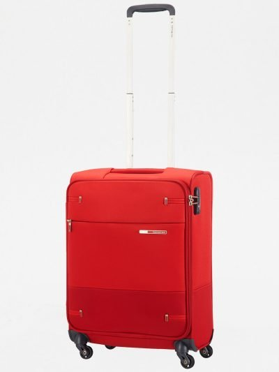 Samsonite Base boost 55cm מזוודה קטנה קלת משקל אדום